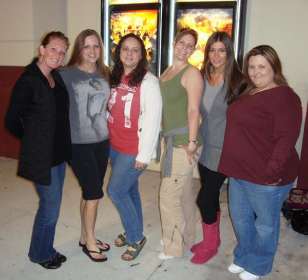 girls dressed for a movie date
