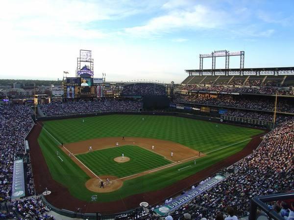 major league baseball game