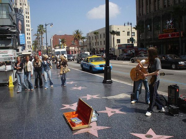 hollywood stars walk of fame